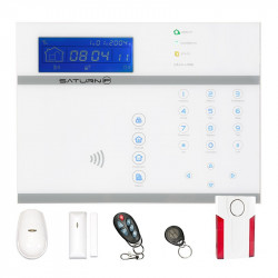 Allarme casa wireless Saturn ip gsm sms internet  Tag R-fid